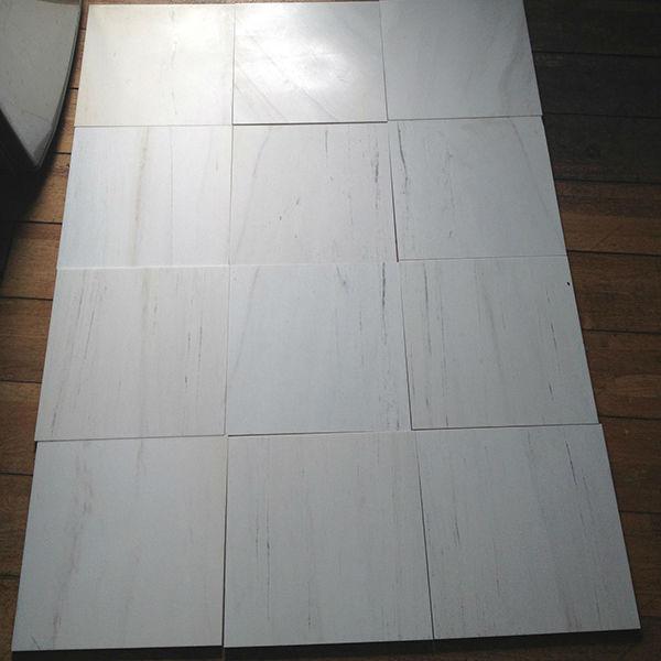 Milky White Marble Tiles