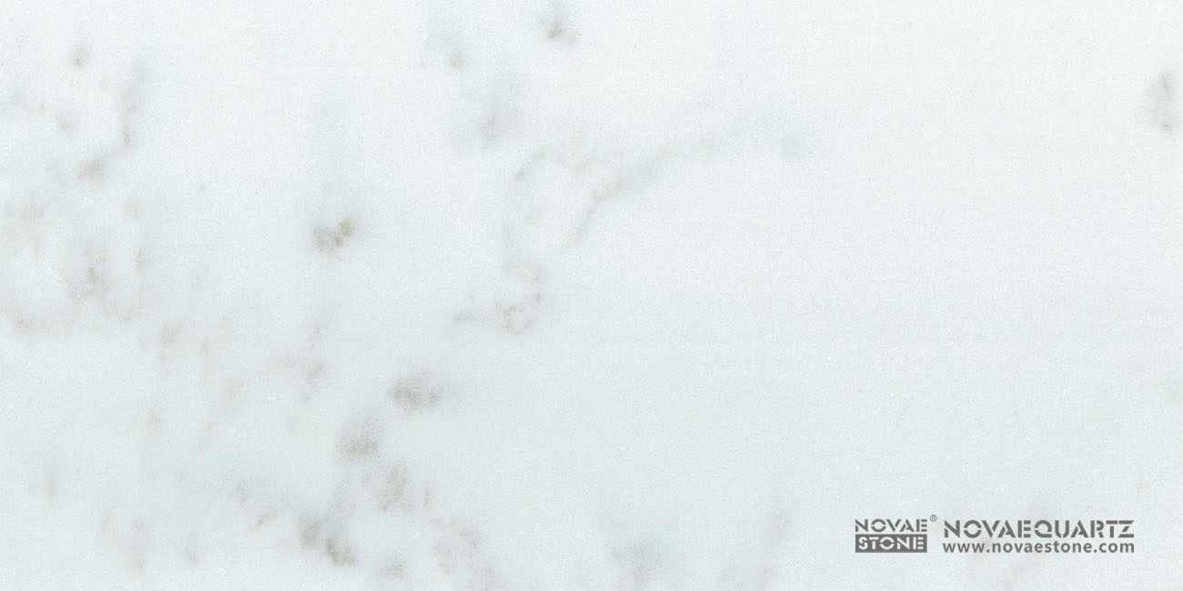 NV901 Bianco Carrara Quartz Slab
