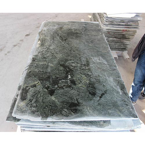 Nanping Green Emperador Granite Polished Flooring Thin Panel