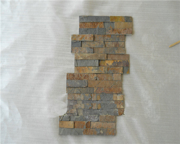 Natural wall slate veneer stone cladding