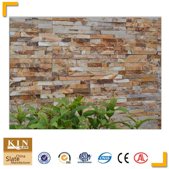 New material yellow stone panel