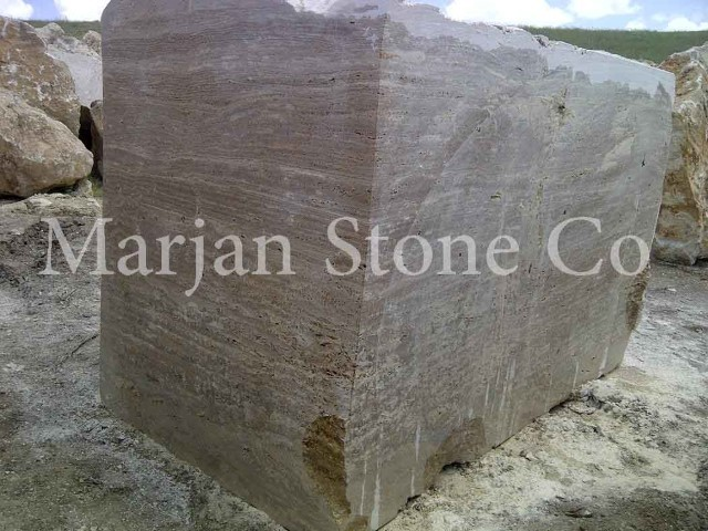 noce travertine block