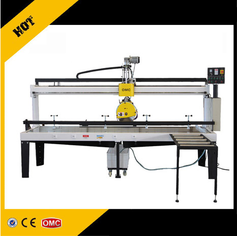 Granite marble slab cutting machine