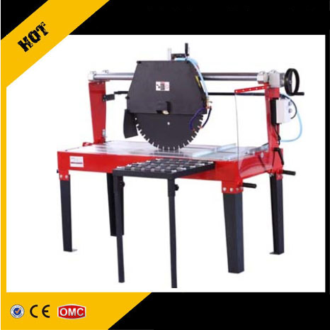Granite block stone cutting machine