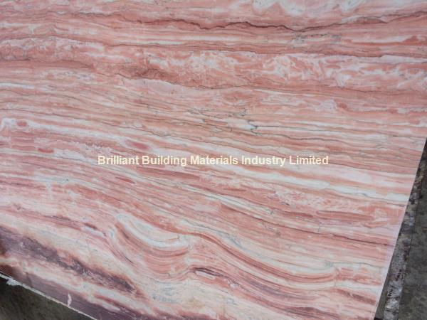 Pink Veins Marble Slab Natural Pink Marble Slab