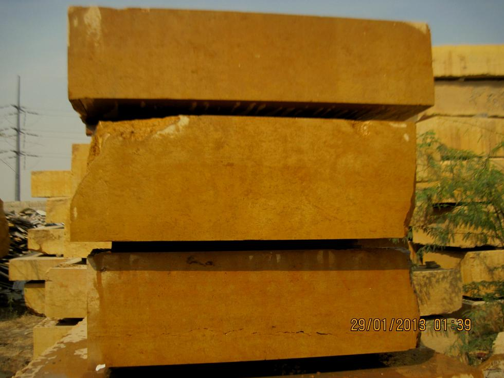 Indus Gold Marble Blocks