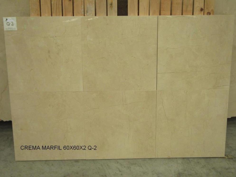 Crema Marfil 60x60x2 cm Polished Q2