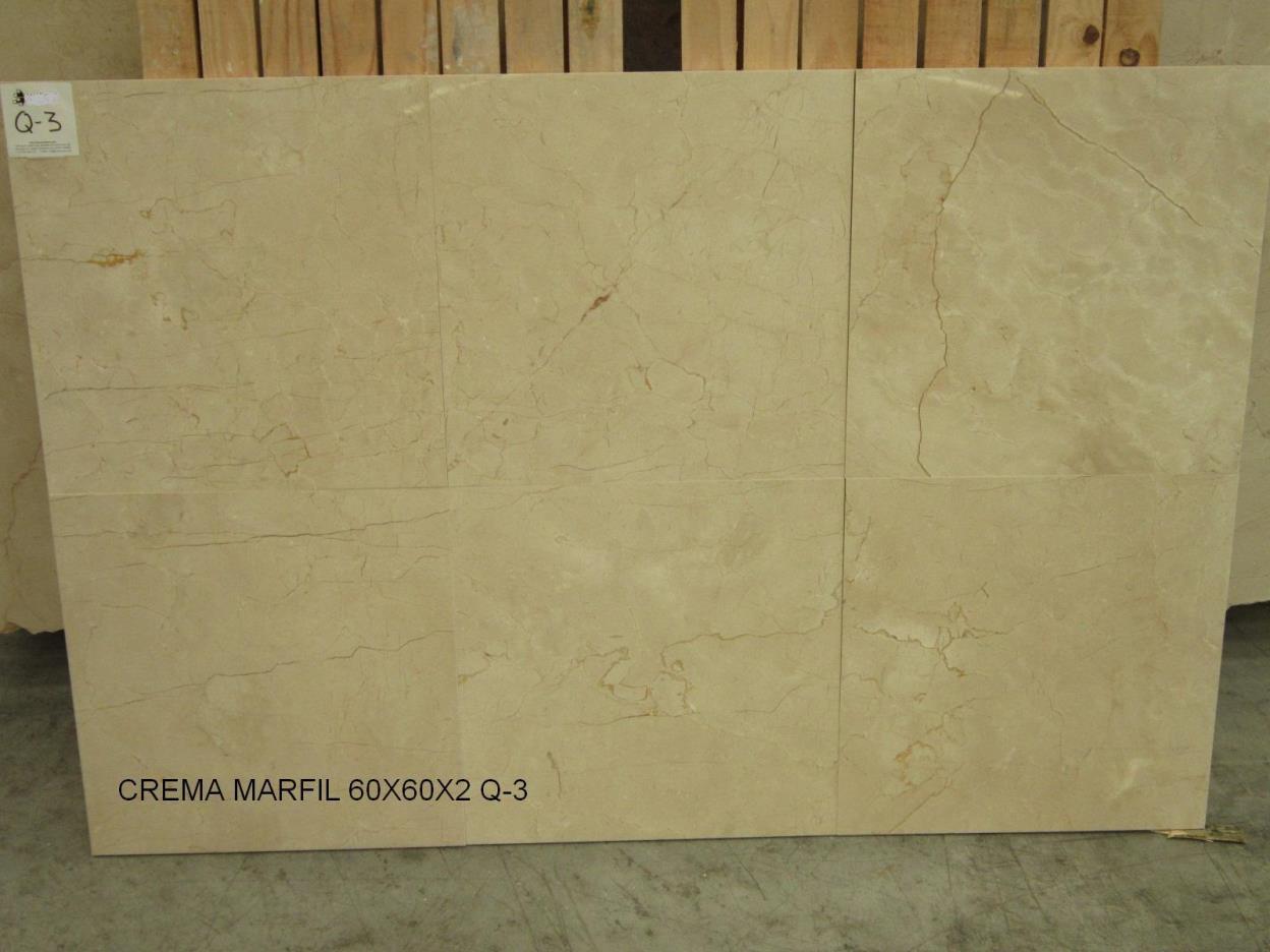 Crema Marfil tiles 60x60x2cm Q3