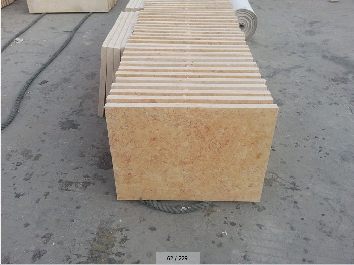 Turkish travertine tile polished finished Chinese