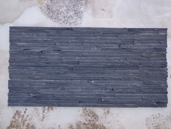 Black Slate Culture Stone, Ledge Stone Veneers