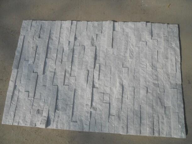 Pure White Quartzite Culture Stone Veneers