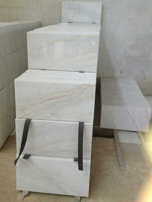 China Carrara White marble tiles