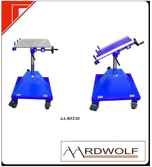 ROTATING SAND BLASTING TABLE