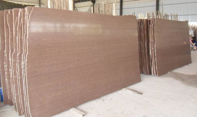 Rosewood vein cut polished slab