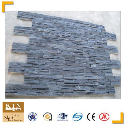 Best price black rough wall cladding
