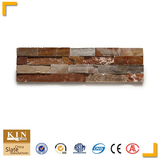 Beigequartzite ledgestone decorative wall panels