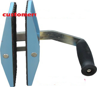 STONE SINGLE HANDED CARRY CLAMPS Stone Slab Hand Carry Clamp