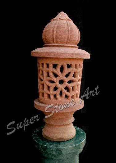 Garden Lamp, Lantern , Stone Lamps , sandstone