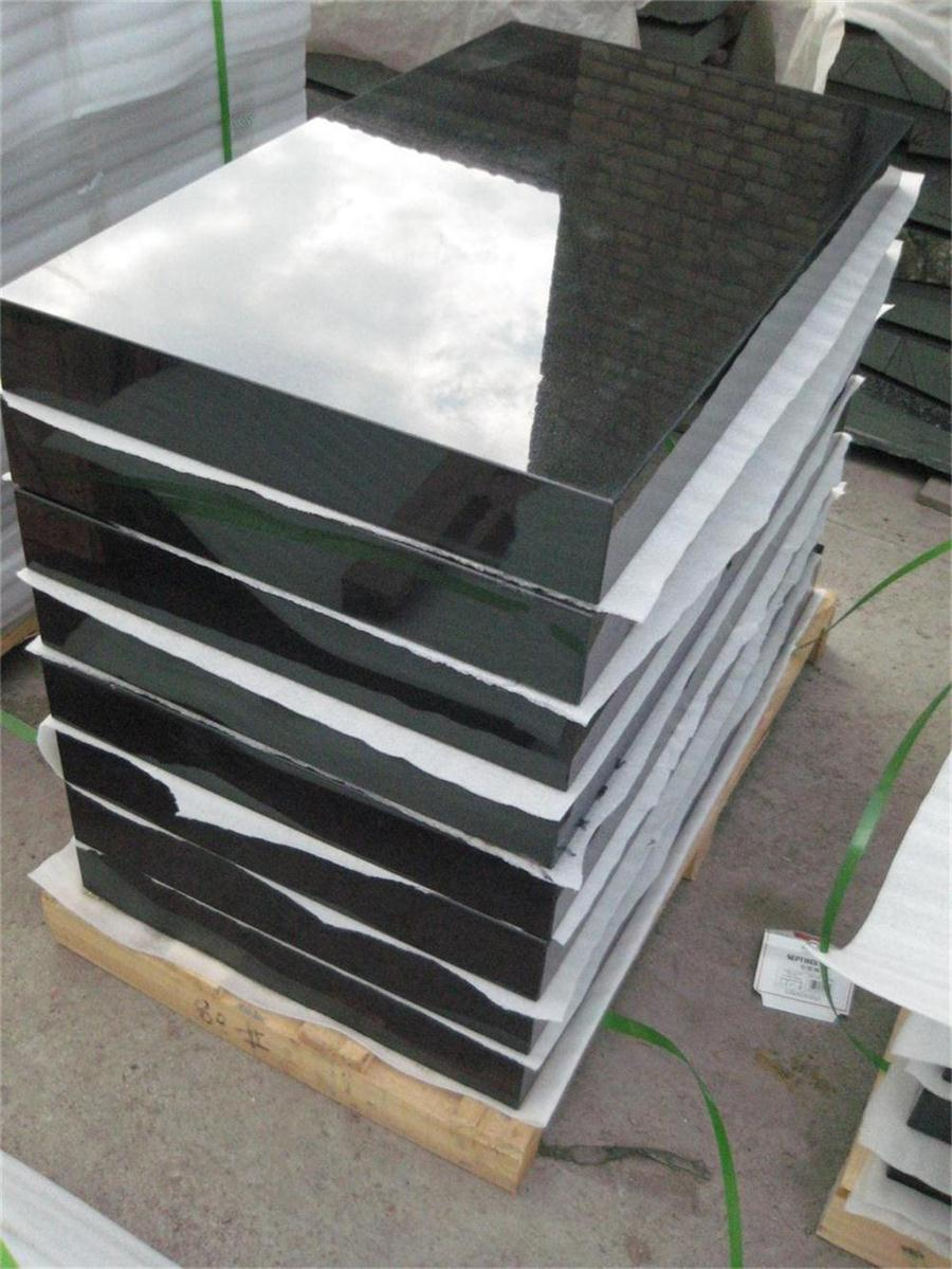 Middle east hot sale shanxi black granite monument