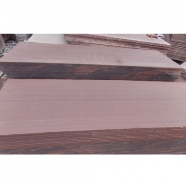 Sichuan Purple Wooden Honed Sandstone Slabs