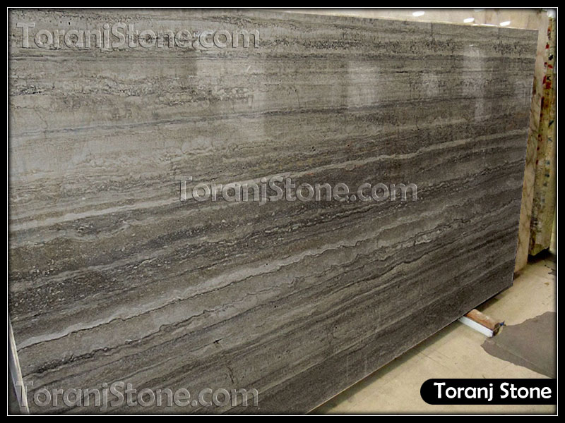 Gray Travertine Stone - Code T109
