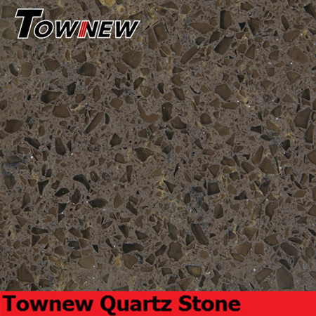 Coffee artificial quartz stone