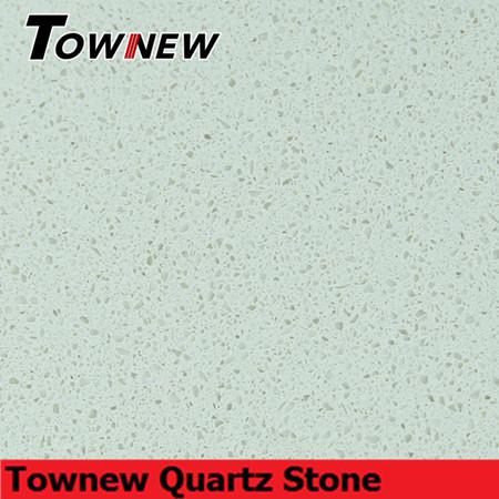 Beige artificial quartz stone