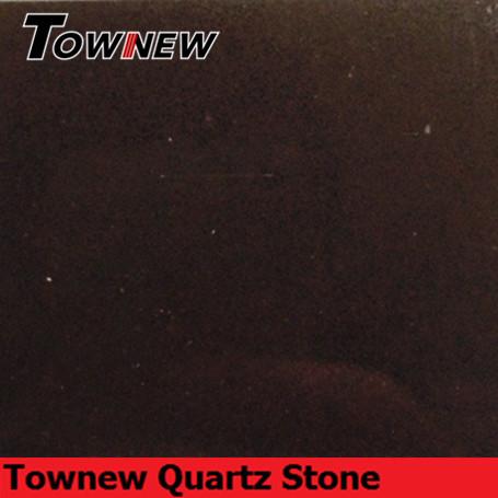 Brown quartz stone