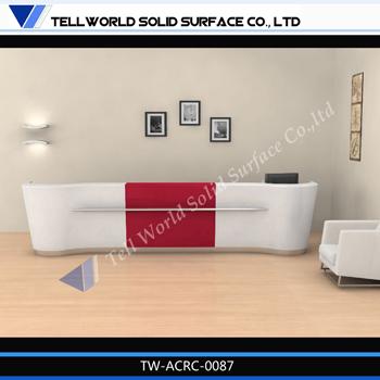Mordern design standing reception desk