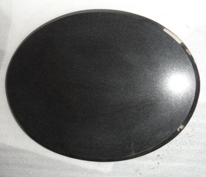 Oval granite tile