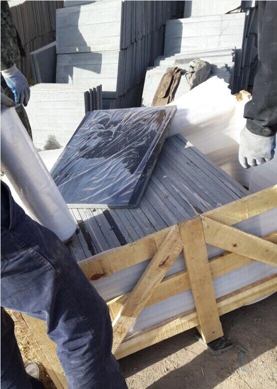 Fengzhen black granite tiles