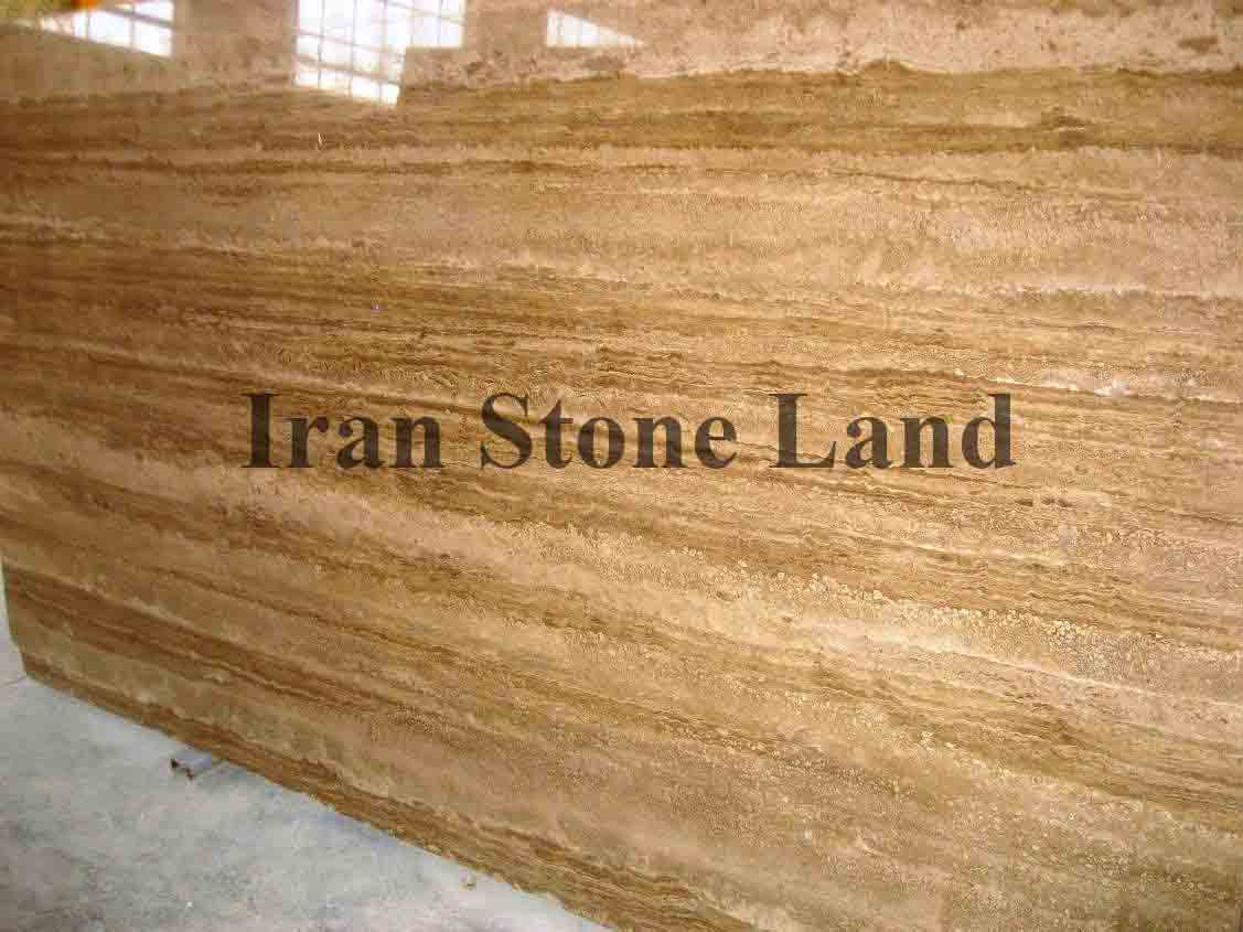 Brown Travertine Slab