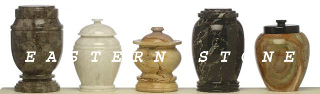 NATURAL MARBLE STONE CREMATION URN