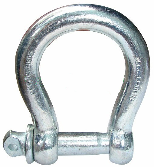 STEEL BOW SHACKLE - ABACO