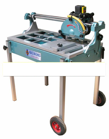 Abaco TILE SAW Abaco Rail cuttting machine