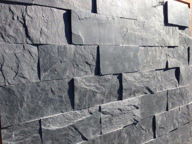 Slate cladding tiles