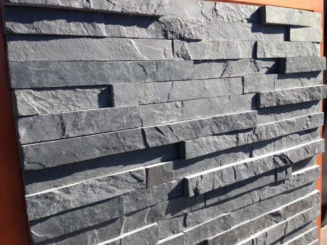 Slate cladding trims