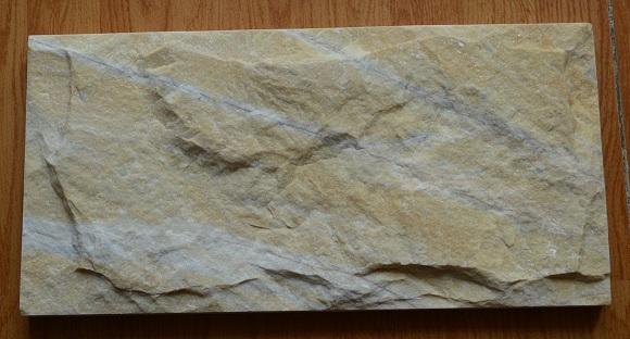 Yellow mushroom marble