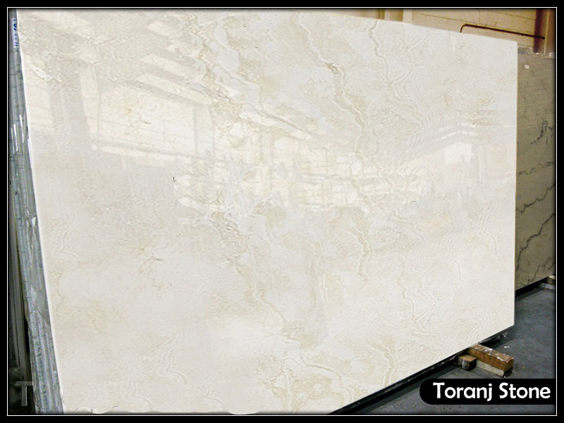 White Travertine Stone - Code T110