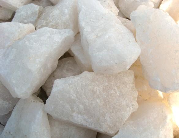 White Quartz Stone : Other stone aggregate lime sand gem