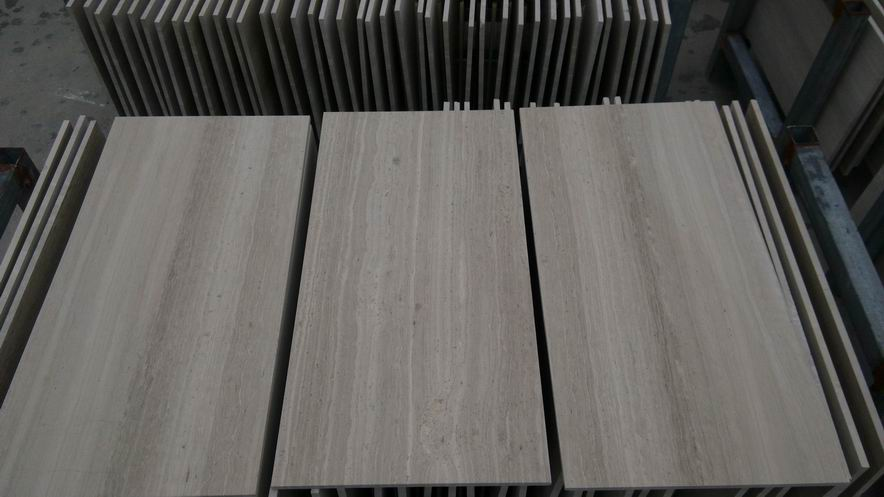 White Wooden Grain Tile