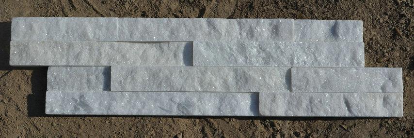 Pure white quartz cladding