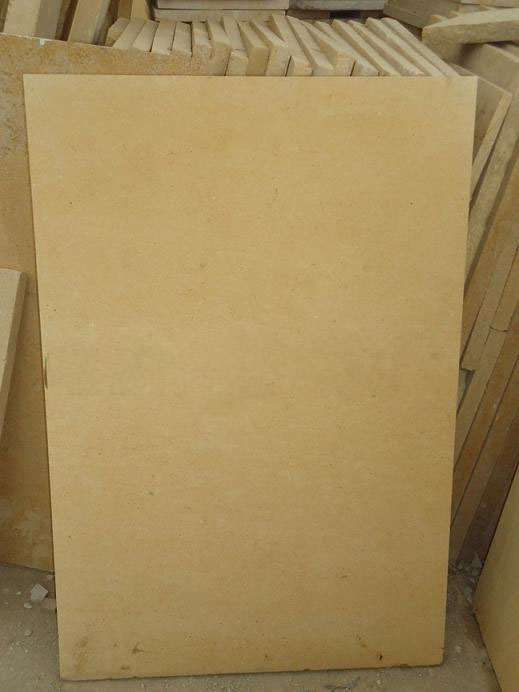 Yellow Limestone Tiles