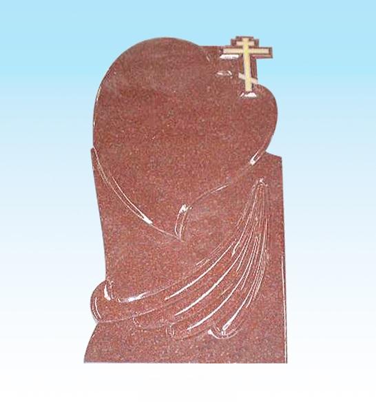 Granite monument red granite headstone