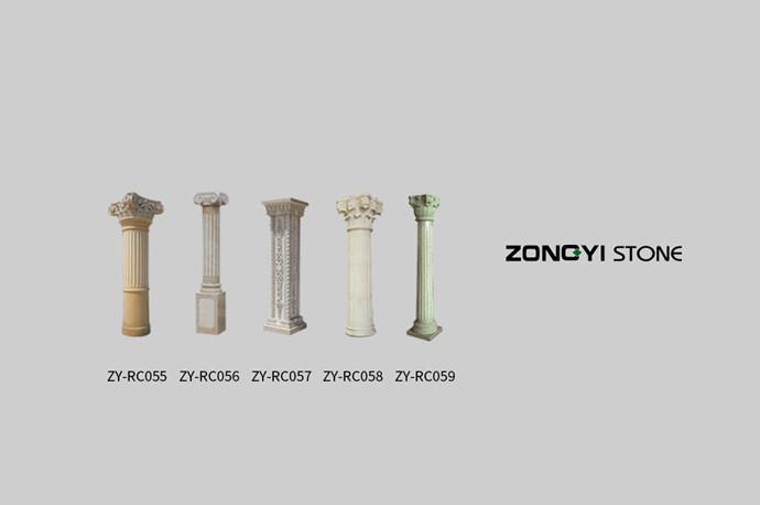 Stone Column Ionic Column Doric Column Corinthian Column