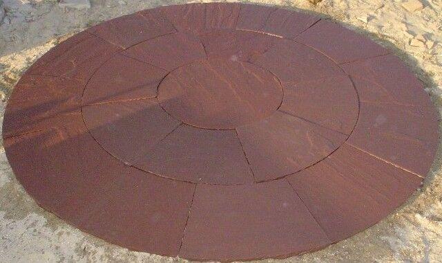 Agra Red circle sandstone