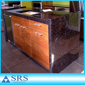 Angola Brown Kitchen Countertop