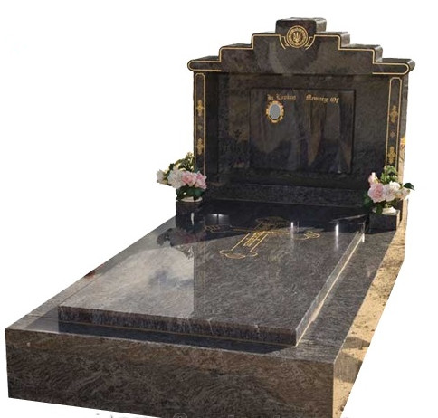 Traditional granite headstone in good quality