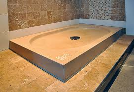 Shower Tray in Natural Stone