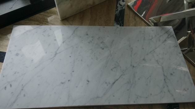 Carrara White Thin Tile